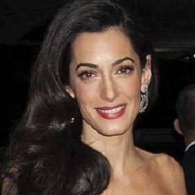 facts on Amal Clooney
