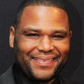 Anthony Anderson facts