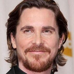 facts on Christian Bale