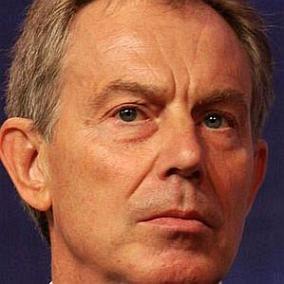 Tony Blair facts