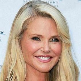 facts on Christie Brinkley