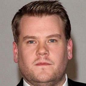 facts on James Corden