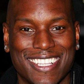 Tyrese Gibson facts