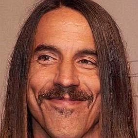 Anthony Kiedis facts