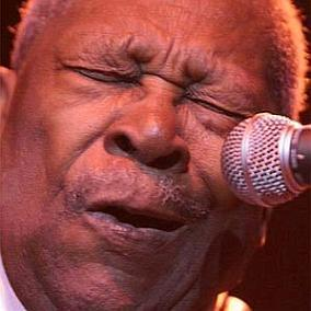 facts on BB King