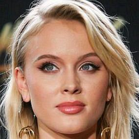Zara Larsson facts