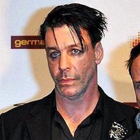 Till Lindemann facts