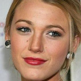 Blake Lively facts