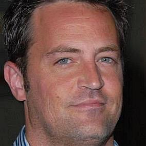 Matthew Perry facts