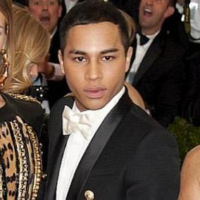 Olivier Rousteing facts