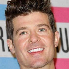 Robin Thicke facts