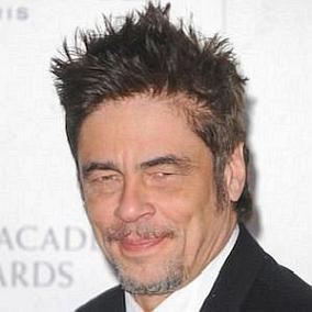 facts on Benicio Del Toro