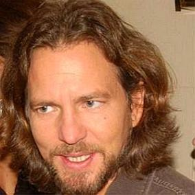 Eddie Vedder facts