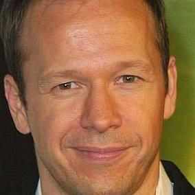 Donnie Wahlberg facts
