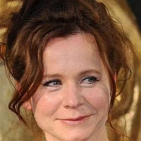 facts on Emily Watson