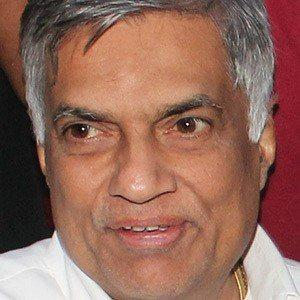Ranil Wickremesinghe facts