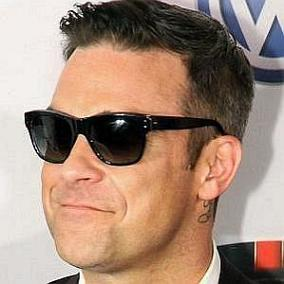 facts on Robbie Williams